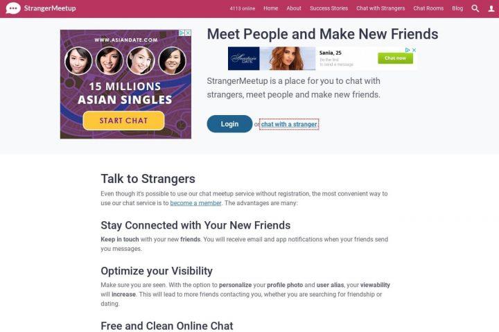 meet people StrangerMeetup