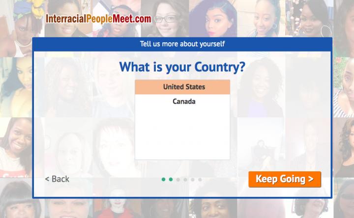 register form InterracialPeopleMeet
