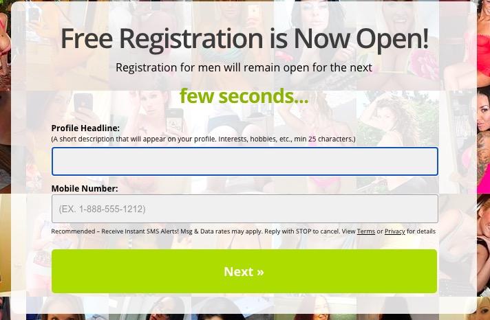 MegaFuckbook registration
